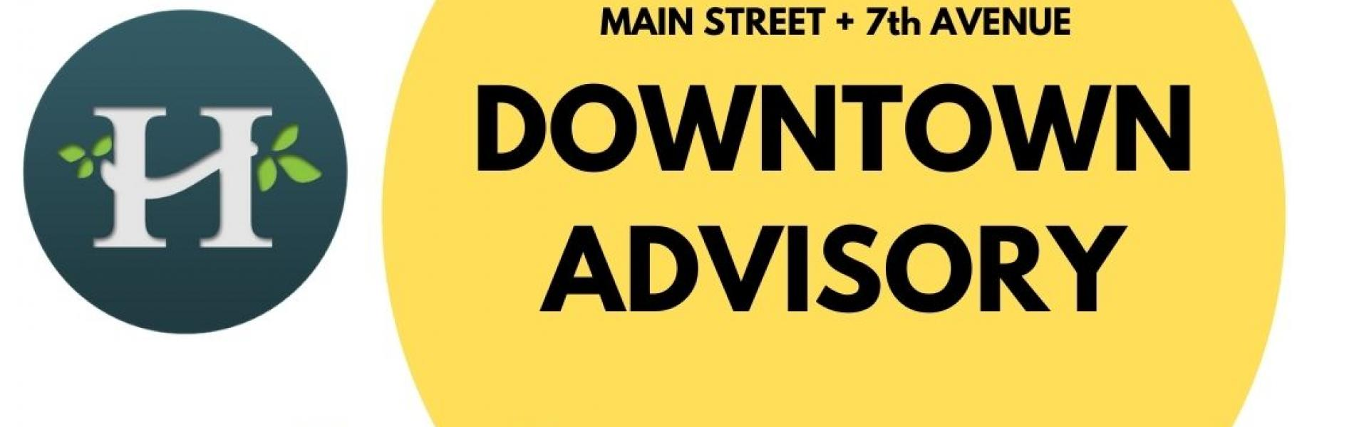 Downtown Advisory committee logo