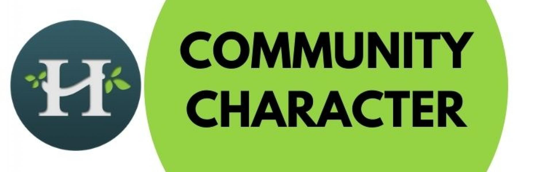 Community Character Meeting Logo