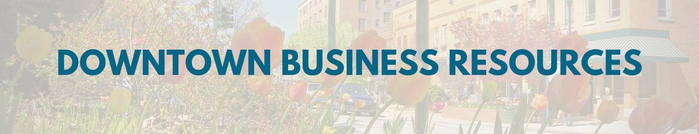 Business resources web header