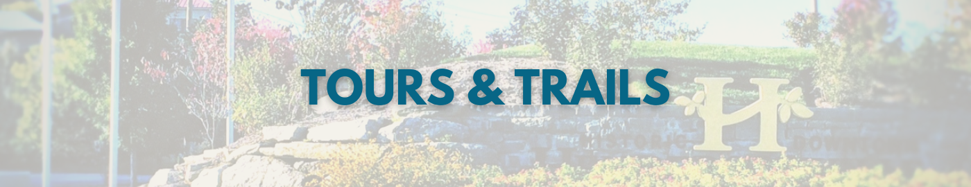 downtown tours and trails header image