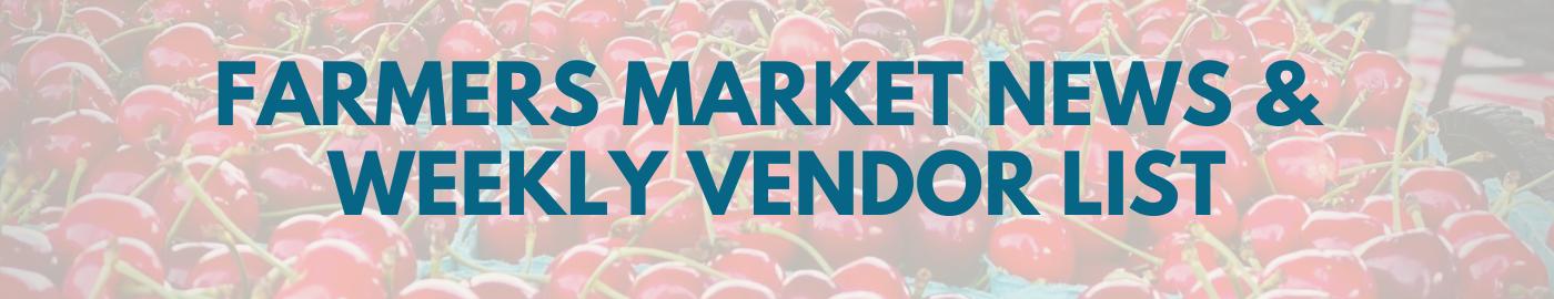 Hendersonville Farmers Market Vendor List