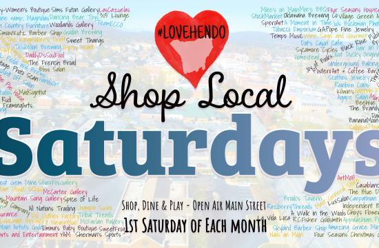 Love Hendo Shop Local Saturdays