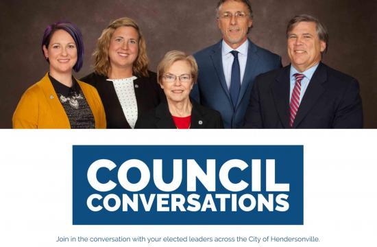 Council members smiling