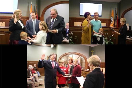 New Council Members & Mayor Pro Tem Sworn In