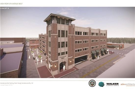 City Council Presented with First Look at Parking Deck