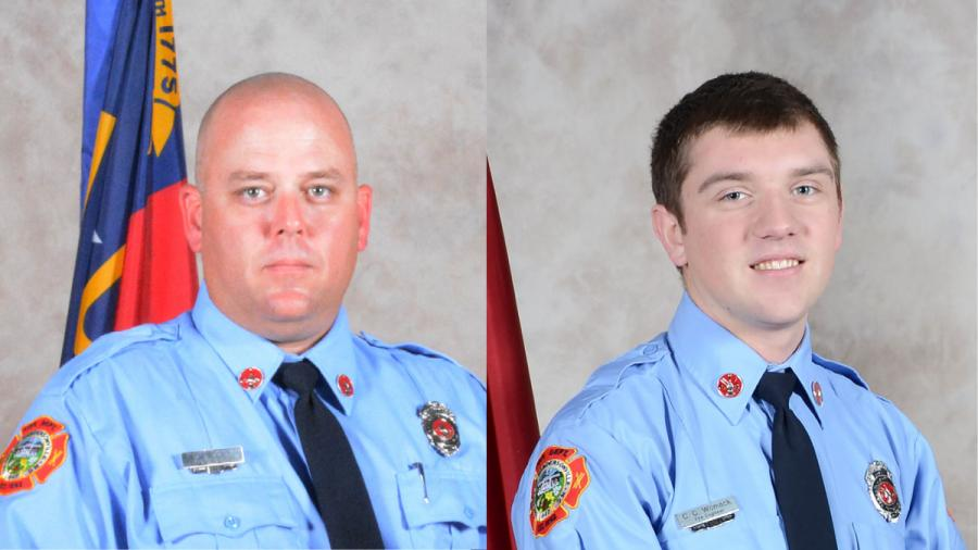 2 firefighters