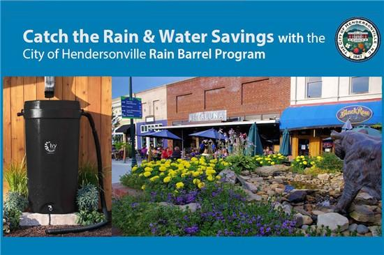 City of Hendersonville Continues Rain Barrel Program