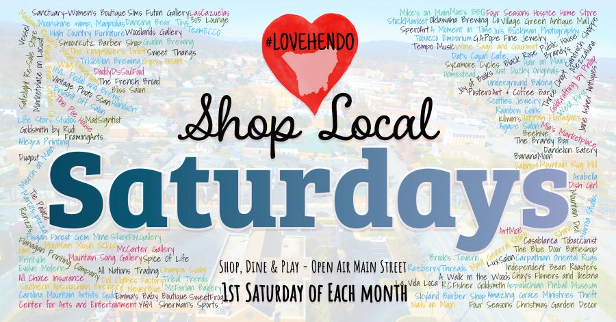 Love Hendo Shop Local Saturdays